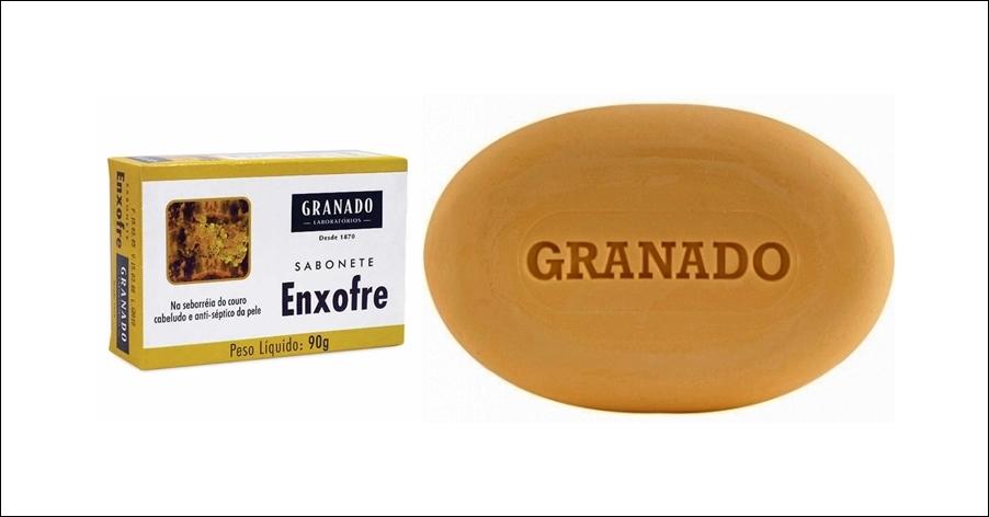 Sabonetes 'Enxofre' e 'Sulfuroso' - Granado