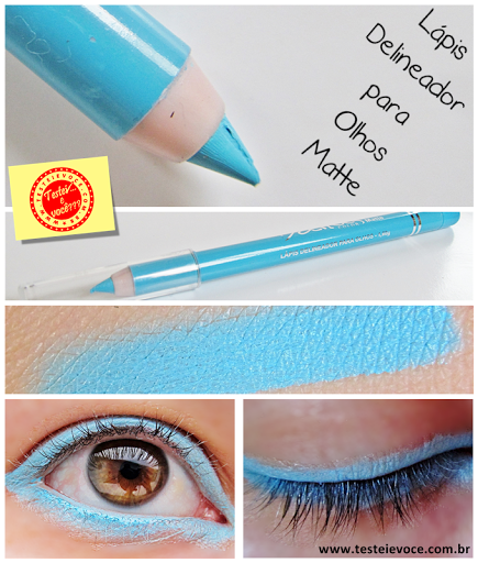 Lápis Delineador para Olhos Matte – Dailus
