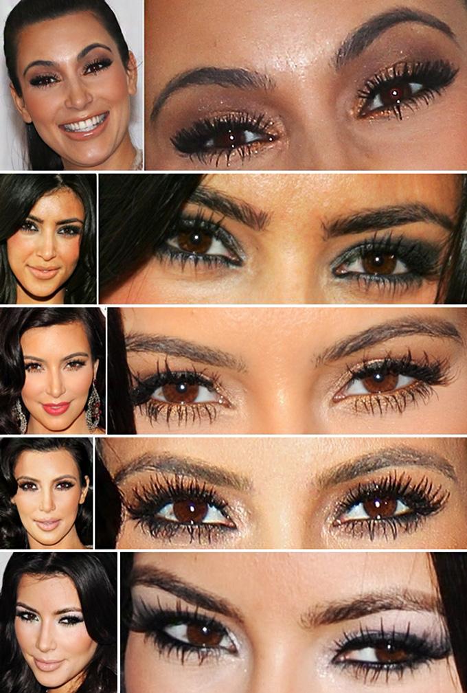 Maquiagem da Celebridade: Kim Kardashian