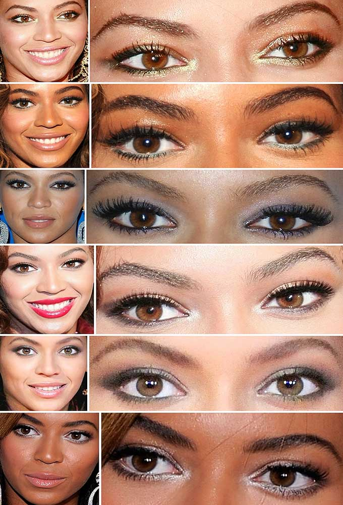 Maquiagem da Celebridade: Beyoncé