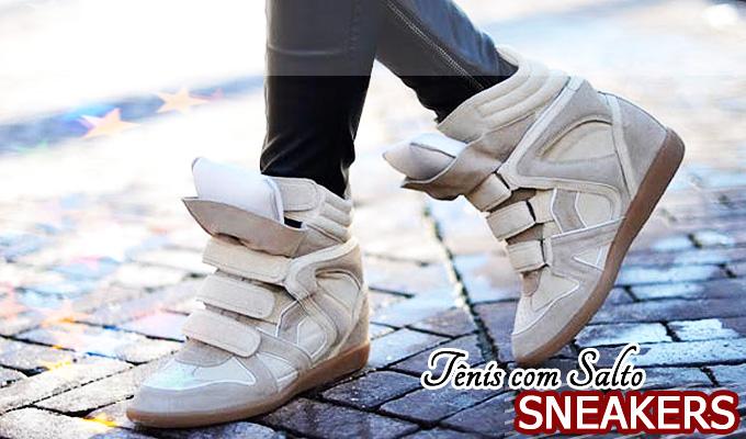 be93e9739de Tendência  Tênis com Salto - Sneakers (Parte II) • Ei
