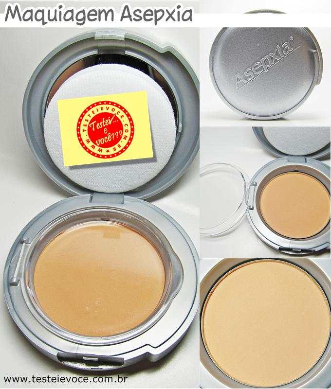 Asepxia Maquiagem: Pó Compacto e Corretivo!