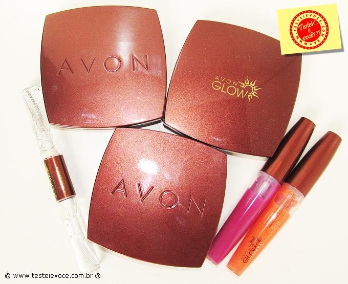 Maquiagens Linha Glow - Avon