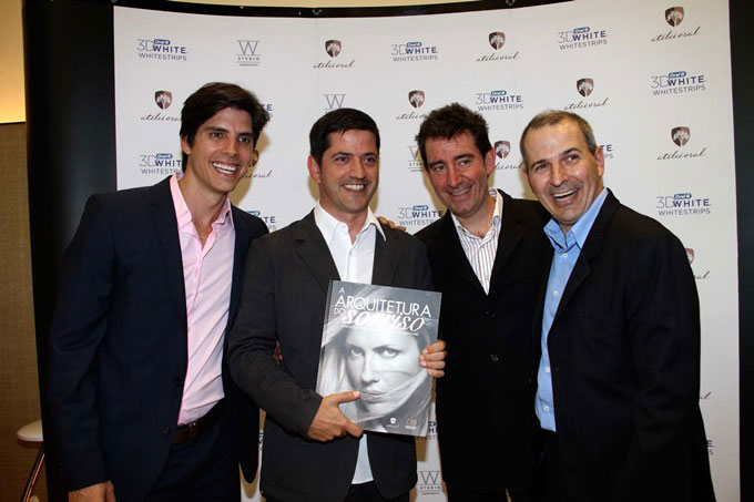 Luis Calichio, Carlos Kemel, Marcelo Kyrillos e Marcelo Moreira