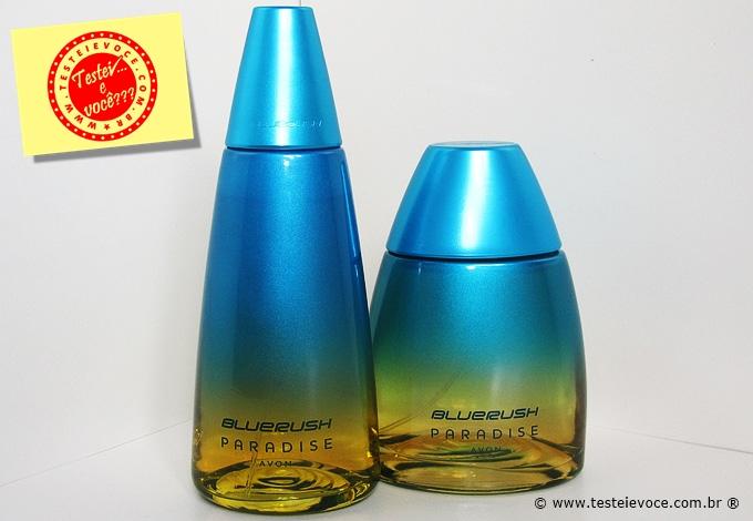 Fragrâncias Blue Rush Paradise - Avon