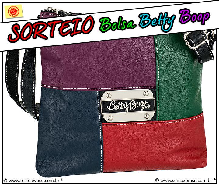 [SORTEIO] Bolsa Betty Boop - Semax
