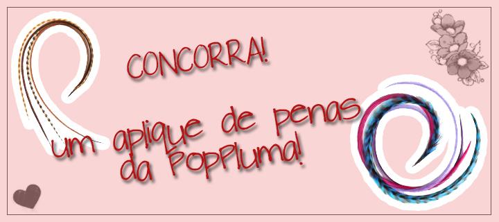 [CONCORRA] Aplique de Penas - PopPluma