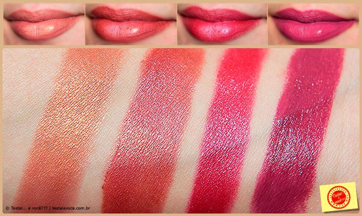 Batons Linha Colors - Fenzza Make Up