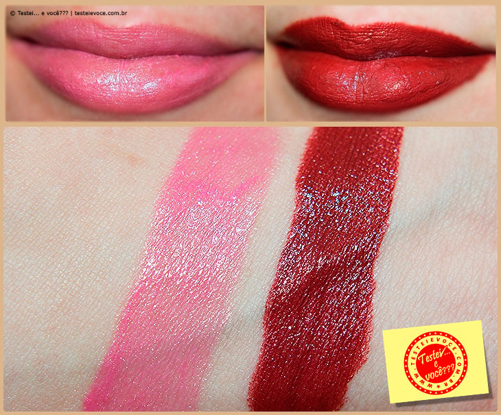 Batons Linha Cristal - Fenzza Make Up