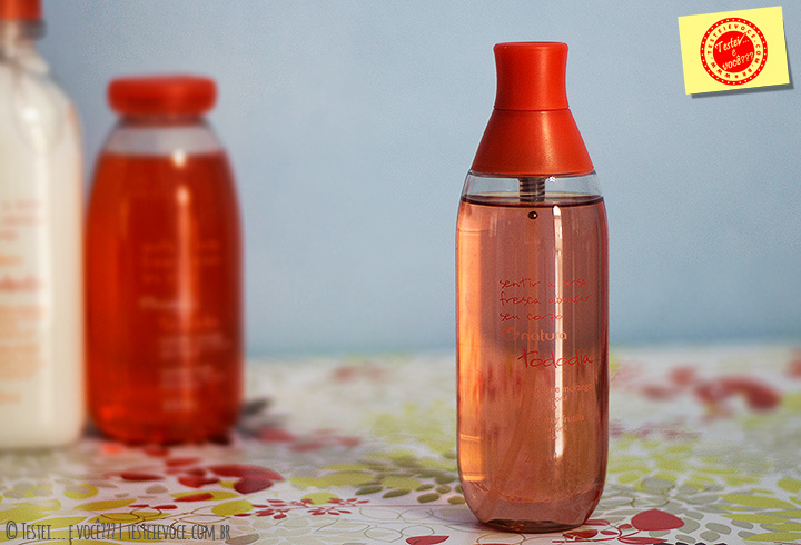 Spray Corporal Acerola e Morango - Natura