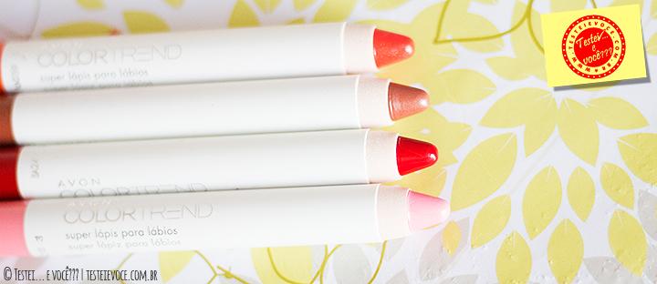 Super Lápis para Lábios ColorTrend - Avon