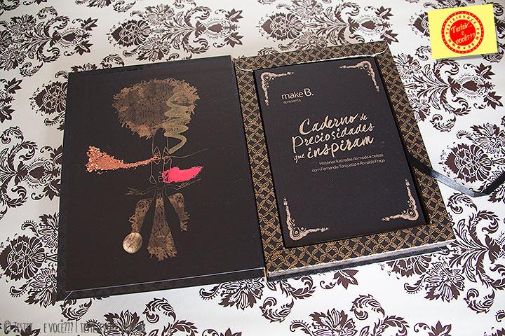 Caderno de Preciosidade Barroco Tropical Make B - oBoticário