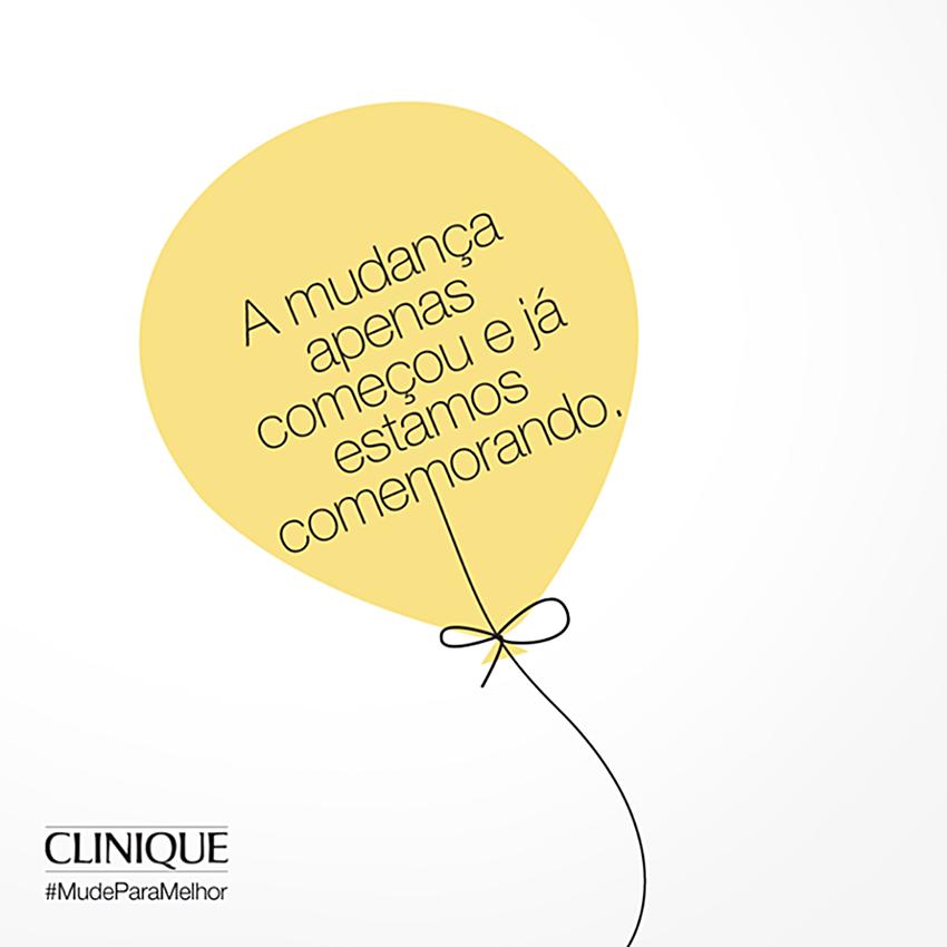 Evento: #MudeParaMelhor - Clinique