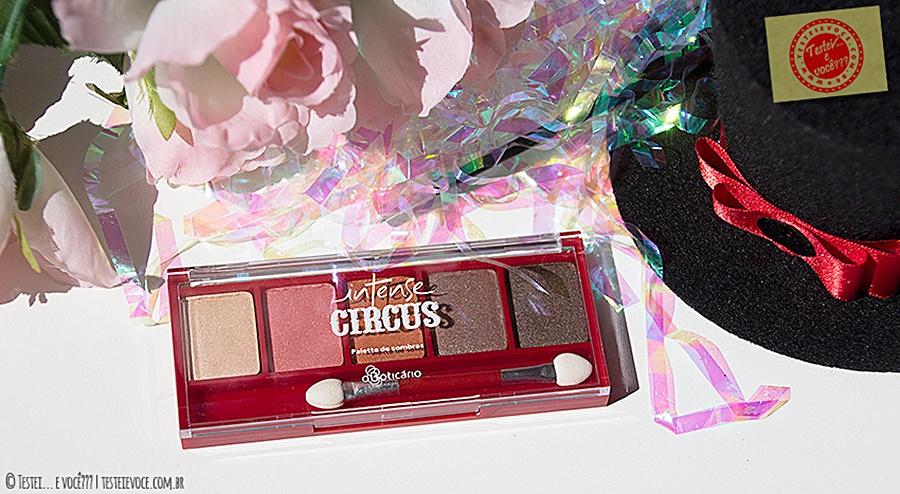 Palette de Sombras 'Espetáculo do Dia' Intense Circus - oBoticário