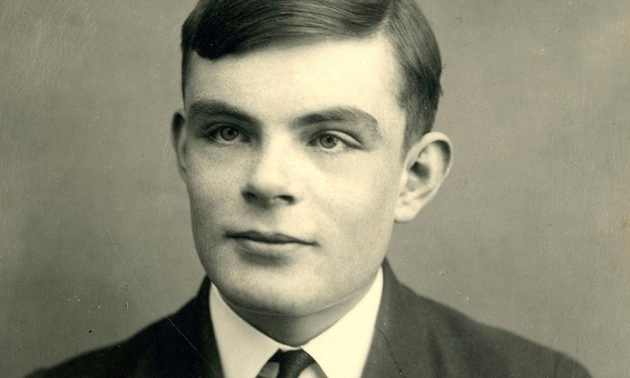 Imagem real de Alan Turing