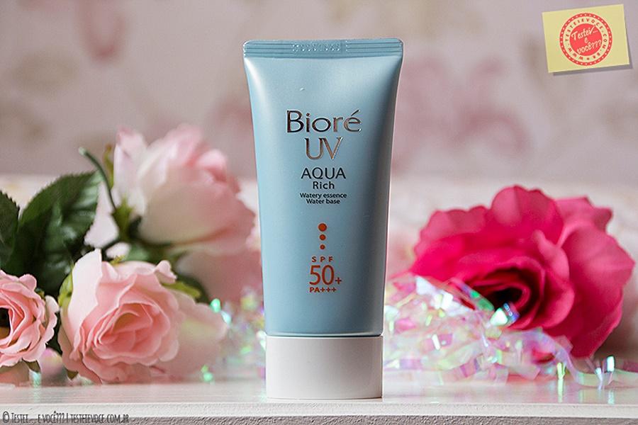 Protetor Solar Aqua Rich UV 50 - Bioré