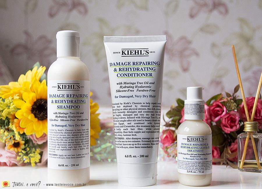 Linha Hair Damage Repairing & Rehydrating - Kiehl's