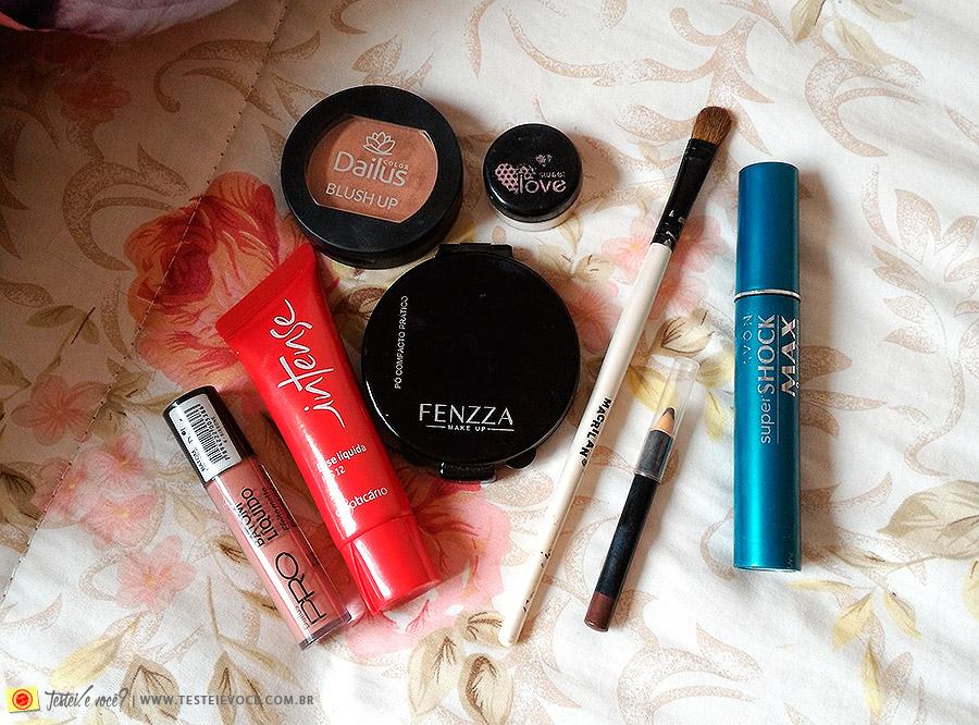 [VÍDEO] 8 Produtos de Maquiagem por menos de R$20!