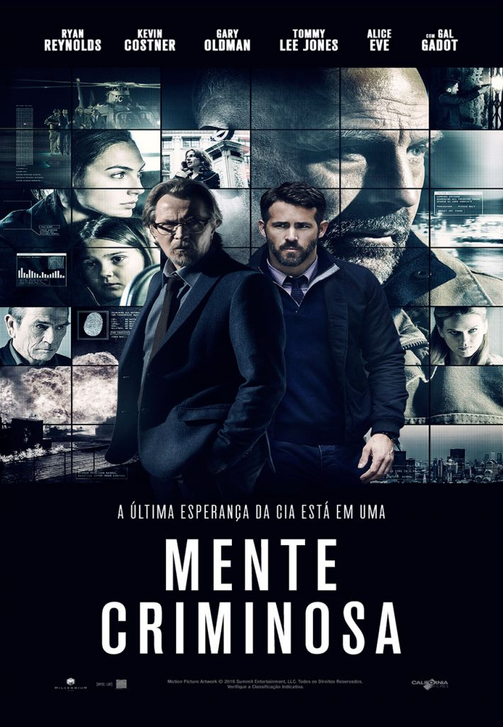 Mente Criminosa (Criminal, 2016)