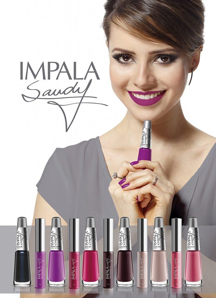 Impala anuncia parceria com Sandy e lança coleção inédita de esmaltes e batons!